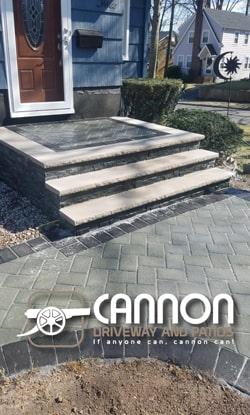 paver stone stoop essex