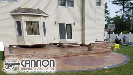 Bloomfield nj paver patio contractor